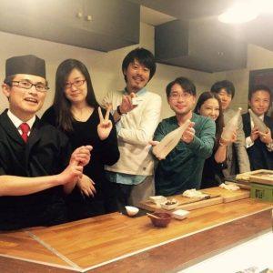 出張 寿司職人
